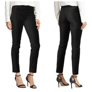 New Lauren Ralph Lauren 8 Black Stretch Pants